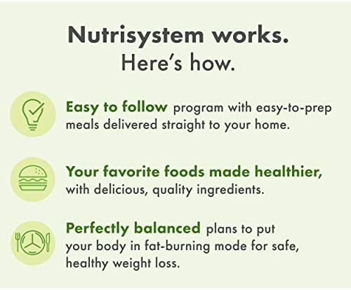 Nutrisystem® Kickstart Green Protein-Powered Kit - 5-Day Weight Loss Kit with Delicious Meals & Snacks 6