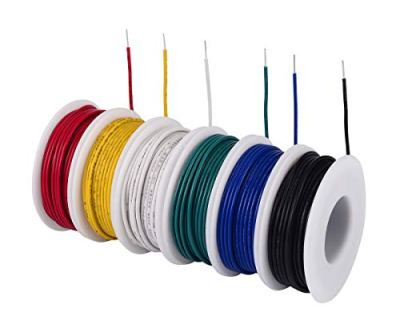 TUOFENG-18-awg-Solid-Wire-Solid-Wire-Kit-6-different-colored-20-Feet-spools-18-gauge-Jumper-wire-Hook-up-Wire-Kit