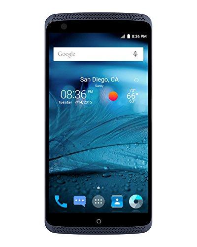 ZTE Axon Pro - Factory Unlocked Phone, 32 GB Phthalo Blue (U.S. Warranty)