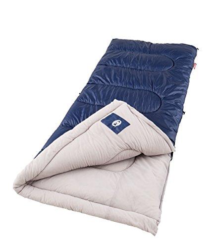 Coleman Sleeping Bag | 20°F Sleeping Bag | Brazos Cold-Weather Camping Sleeping Bag