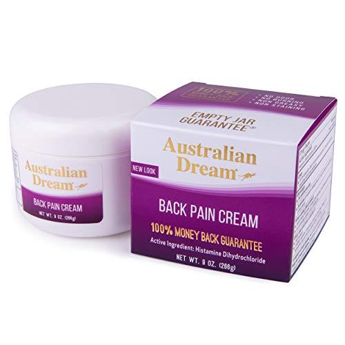 Australian Dream Back Pain Cream, 9 Ounce