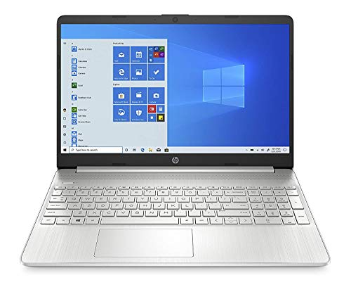 HP 15s-du2009tu 15-inch FHD Laptop (i3-1005G1/4GB/1TB HDD/Windows 10 Home/MS Office/1.75 Kg), Natural Silver