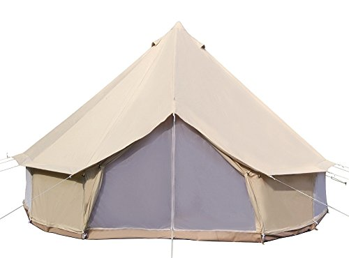 Dream House Diameter 3M Cotton Canvas Winter Camp Sibley Tent Waterproof...
