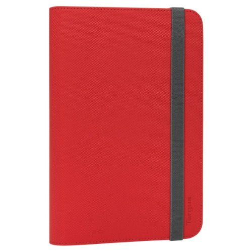 Targus Universal 9.7-10.1' Tablet Flip Case - Red - Fits Samsung Galaxy Note 2 10.1, Tab 2 10.1 & Tab 3 10.1, Google Nexus 10, Sony Xperia Tablet Z, Plus Many More 9.7'-10.1' Tablets