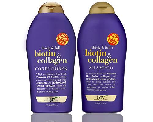 OGX (Thick & Full) Biotin & Collagen Shampoo +...
