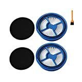 EZ SPARES 2PCS Replacements for Bisell Washable Steam Motor Hepa Filter Kit for Bissell Symphony 1132 1410 1530 11322 Vac