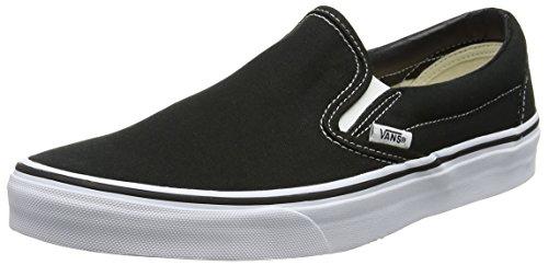 Vans Classic Slip On Black White Mens US 12