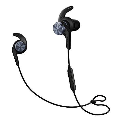 1MORE iBFree in-Ear Earphones Wireless Sport Headphones Bluetooth CSR, IPX 4 Waterproof, Secure Fit in-Line Remote Gym Running Workout - Green