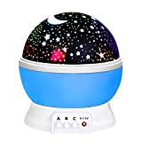 ATOPDREAM Fun New Cool Toys for 2-10 Year Old Boys Girls Kids, Wonderful Quiet Romantic Starlight for Kids Toys for 2-10 Year Old Boys Birthday Present Gifts for 2-10 Year Old Girls Blue TSUSXK01