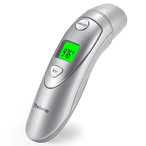 Metene Medical Forehead and Ear Thermometer for Infants
