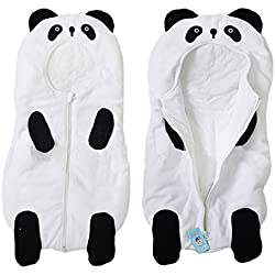 eonkoo Baby Cute Sleeping Bag Sack Romper Fleece Panda Sleepwear Swaddle Unisex Bodysuit