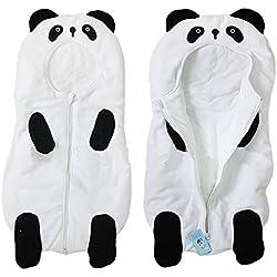 eonkoo Baby Cute Sleeping Bag Sack Romper Fleece Panda Sleepwear Swaddle Unisex Bodysuit