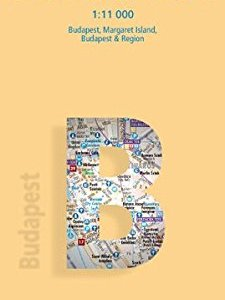 Laminated Budapest City Streets Map by Borch (English Edition) 5