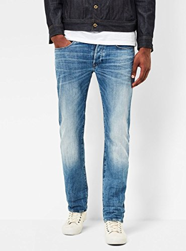 41YR1JuYdKL Classic five-pocket jean in straight-leg cut Button fly 16-inch leg opening