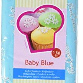 FunCakes Pasta di Zucchero Blu Baby - 1000 gr