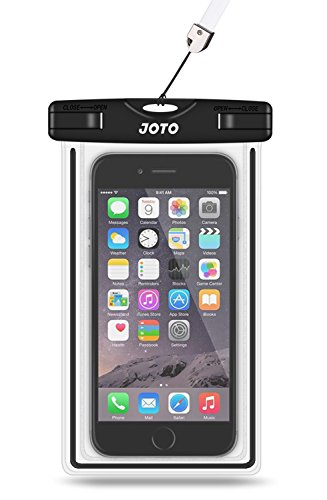 JOTO Universal Waterproof Case Compatible for iPhone XS Max XR XS X 8 7 6S Plus, Samsung Galaxy S9 S8 Plus/Note 8 6 5 4/ Pixel 3 XL/3, Cellphone Dry Bag for HTC LG Motorola up to 6.0