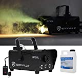 Rockville Fog/Smoke Machine w/Remote+Fluid+Multi Color LED Built In! In (R720L)