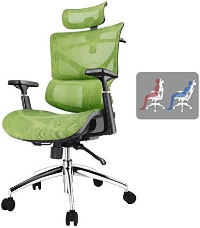 Ergonomic Office Chair,Full Mesh Ergonomic Waist Support Gaming Chair,3D Armrest and Tilt Function,Suitable for Long Hours of Gaming and Work High Back Chair, Making You Comfortable All Day