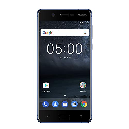 Nokia 5 - Android 9.0 Pie - 16 GB - Single SIM Unlocked Smartphone (AT&T/T-Mobile/MetroPCS/Cricket/Mint) - 5.2' Screen - Blue