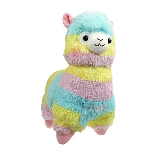 Cuddly Llama Rainbow Alpaca Doll 7 Soft Baby Stuffed Animal Toy