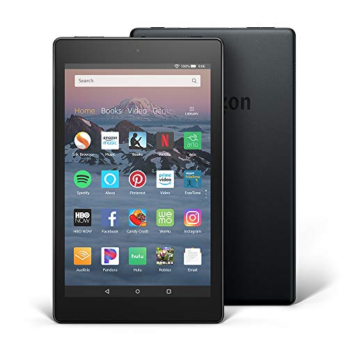 All-New Fire HD 8 Tablet | Hands-Free with Alexa | 8' HD Display, 16 GB, Black - with Special Offers