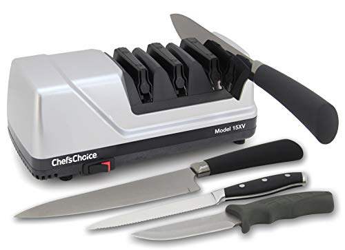 Chef'sChoice 15 Trizor XV EdgeSelect Professional Electric Knife...