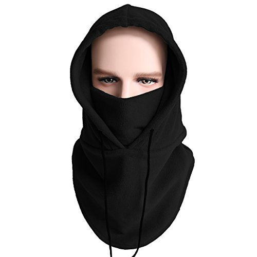 3ad7b676a257f Winter Balaclava Fleece Hood-Windproof Ski Mask-Cold Weather Face ...