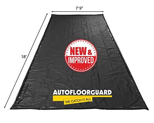 AutoFloorGuard AFGP-7918 Black 7'9'x18' AFG MidSize Containment Mat