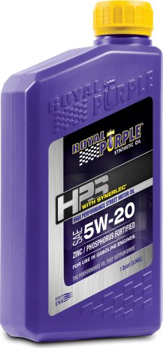 Royal Purple 36520-6PK HPS 5W-20 Synthetic Motor Oil