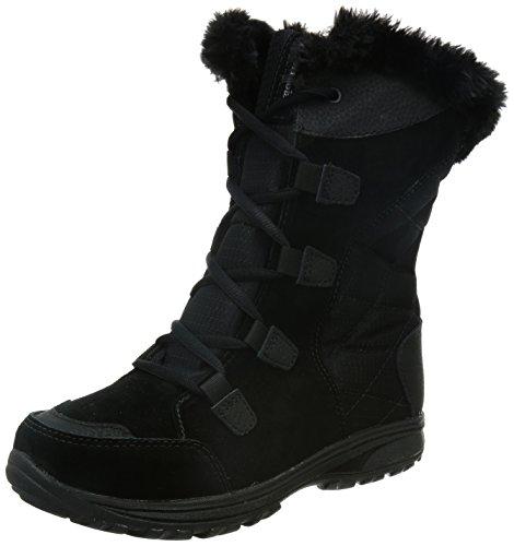 Columbia Women's ICE Maiden II Snow Boot, Black, Grey, 10 B US