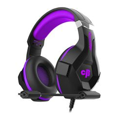 Cosmic Byte H11 Gaming Headset with Microphone (Black/Purple)