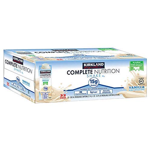 Kirkland Signature Expect More Complete Nutrition Shakes, 32-pack, 8.2 fl. oz.