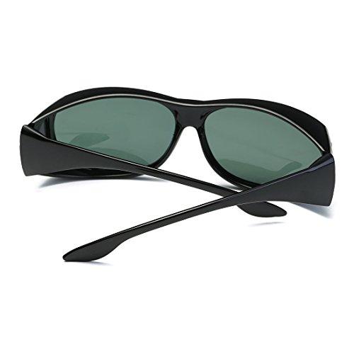5e378e4a299 AEVOGUE Polarized Sunglasses Mens Over-The-Glass Prescription Safety ...