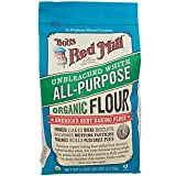 Bob's Red Mill Organic White Flour - Unbleached - 5 lb
