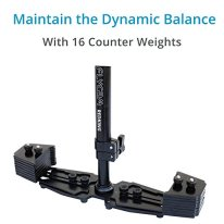 FLYCAM-Redking-Quick-Balancing-Video-Camera-Stabilizer-with-Dovetail-Quick-Release-FLCM-RK-Professional-CNC-Aluminum-Camera-Stabilizer-for-DSLR-BMCC-Sony-Nikon-DV-Camcorders-up-to-7kg154lb-Bag