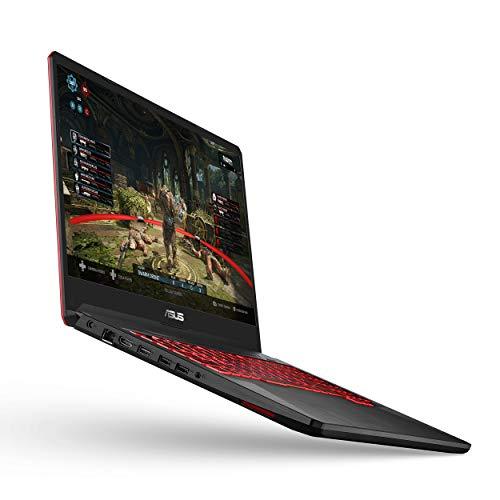 ASUS TUF Gaming Laptop, 17.3' Full HD IPS Type, AMD Ryzen 5 3550H CPU, AMD Radeon RX560X, 8GB DDR4, 512GB PCIe SSD, Gigabit Wi-Fi 5, Windows 10 Home - FX705DY-EH53