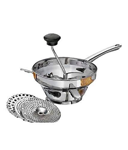 Food Mill Potato Ricer~ Masher~ 3 Strainer~ hand crank SS heavy Body best price