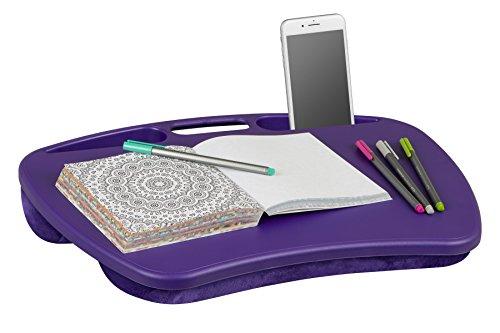 LapGear MyDesk Lap Desk - Purple (Fits up to 15.6' Laptop) - Style #45342
