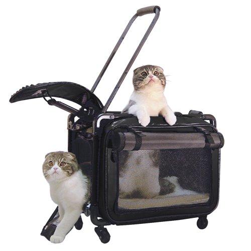 Tutto Medium Pet on Wheels Stroller, 20-Inch, Black 1