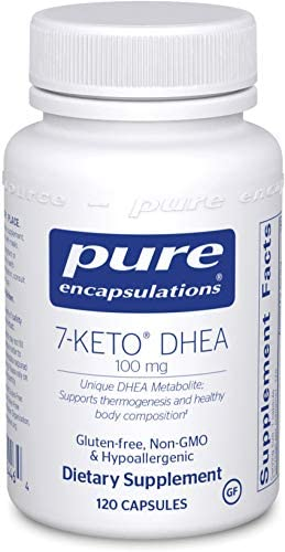 Pure Encapsulations - 7-Keto DHEA 100 mg - Unique DHEA Metabolite to Support Thermogenesis and Healthy Body Composition - 120 Capsules 3