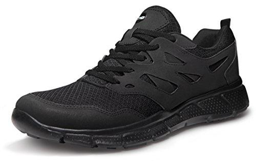 TSLA TF-X710-BKO_Men 10 D(M) TSLA Men's Lightweight Sports X Series Running Shoe X710 ( True to Size )