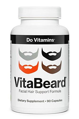Do Vitamins - VitaBeard Facial Hair Growth Multivitamin, The Original Beard  Growth Supplement for Men, Grow a Thicker Fuller Beard – Vegan, Non-GMO,