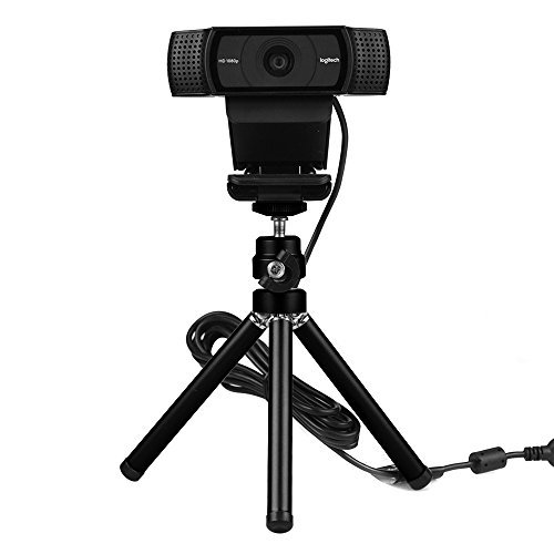 Lightweight Mini Webcam tripod for Logitech Webcam C920 C922 Small Camera Tripod Mount Cell Phone Holder Stand