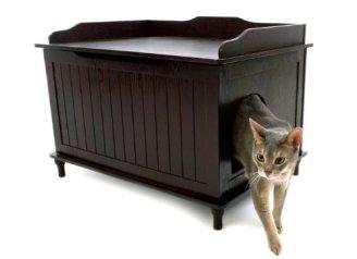 Designer-Catbox-Litter-Box-Enclosure-in-Espresso
