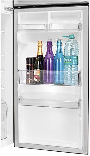 41ZTwoptqeL LG 284 L 3 Star Inverter Frost-Free Double Door Refrigerator (GL-T302RPZN, Shiny Steel)