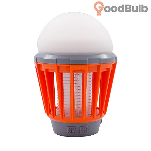 2-in-1 Camping Lantern & Bug Zapper - IPX6 Waterproof