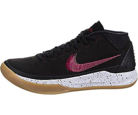 Nike Mens Kobe AD Padded Insole Sport Basketball Shoes Black 10 Medium (D)