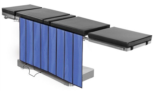 "X-Ray Shields - Main Table Drape Panel Barrier, 0.5mm Protection, 4-Panels, 24""W x 30""H, Regular Lead"