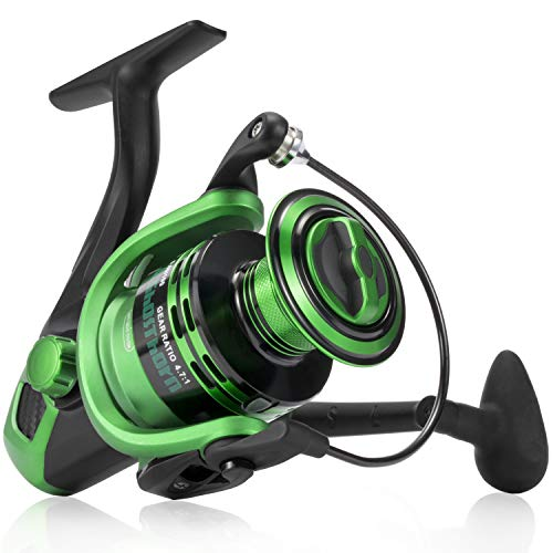 Ghosthorn Spinning Fishing Reel - Carbon Fiber Drag Washers 42.5 Lb Max Drag - Ultra Smooth Powerful Spinning Fishing Reel Stainless Steel BB Freshwater Saltwater