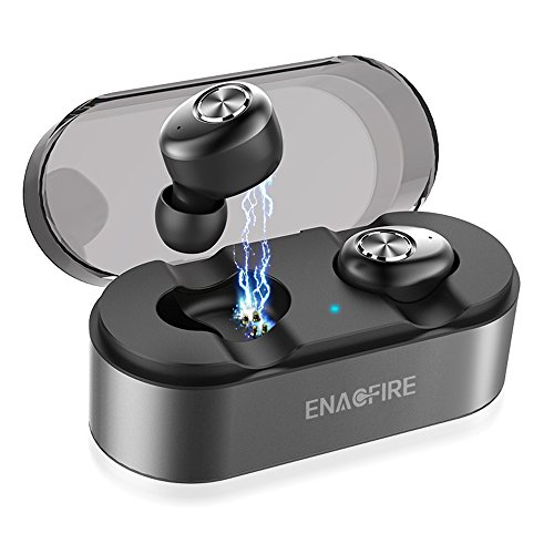 ENACFIRE E18 Wireless Earbuds, 3D Stereo Sound Wireless Headphones with Built-in Microphone iPhone Apple Sony Phones